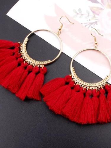 Bohemian Long Tassel Earrings