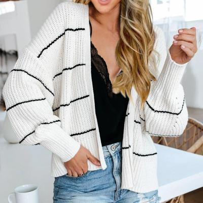 Casual Sweater Soft Knitted Long Sleeve Open Front Thin Autumn Coat Long Plus Size Outwear Women Cardigans
