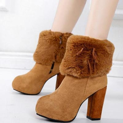 Holiday Fall Suede Boots
