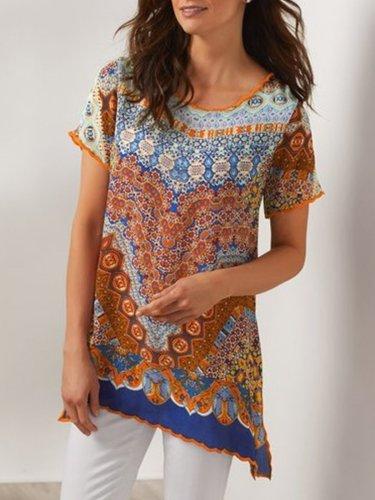 Vintage  Plus Size Shirt for Women