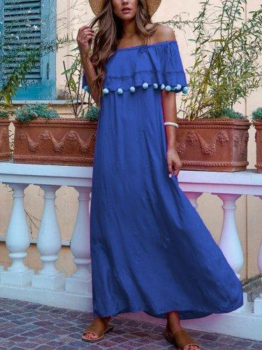 Solid Maxi Dresses
