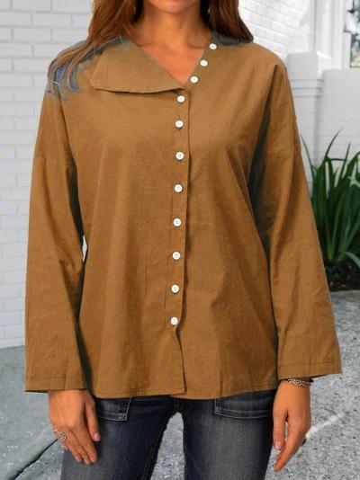 Cotton Holiday Shift Shirts & Tops
