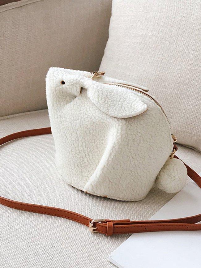 Casual Zipper Crossbody Bags