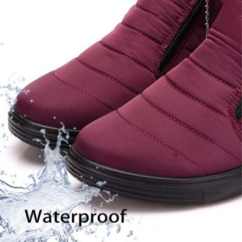 Women Snow Booties Casual Comfort Warm Waterproof Shoes