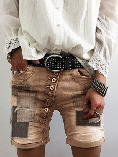 Holiday Denim Pants