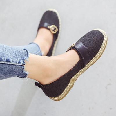 Women Canvas Flat Loafers Casual Comfort Shoes