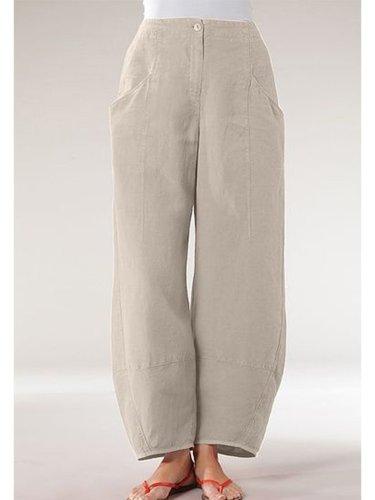 Women Casual Pocket Pants