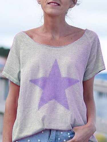 Floral-Print Geometric Shirts & Tops