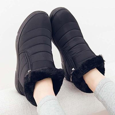 Women Snow Booties Casual Comfort Warm Waterproof Shoes