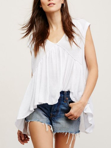 Short Sleeve Cotton Shirts & Tops