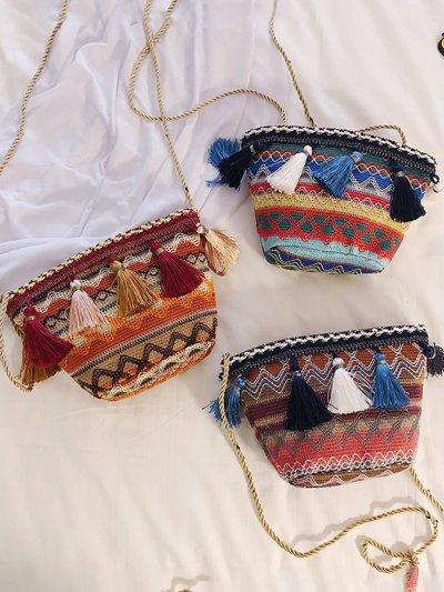 Zipper Crossbody Bags