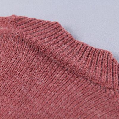 Sweaters and Pullovers V-Neck Pullovers Computer Knitted Casual Long Sleeve Women Sweater Fashion Sexy Sweater