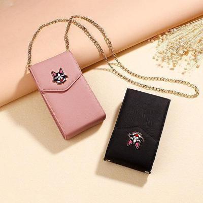 Women Cute Faux Crossbody Phone Bag