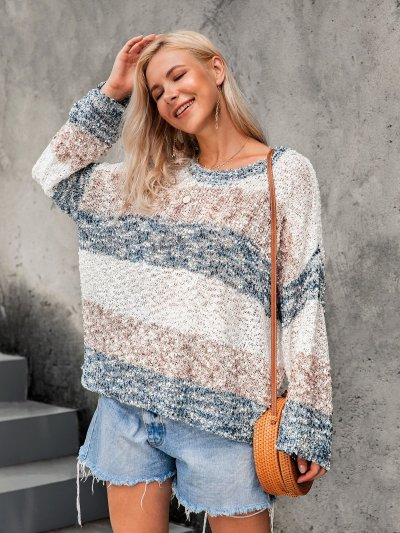 Ombre/tie-Dye Long Sleeve Shirts & Tops