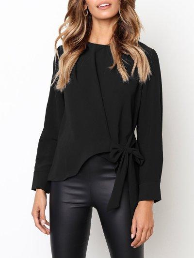 Irregular Long Sleeve Shirt