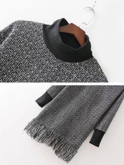 Woolen  Tassel Sweet Turtleneck Fall Sweater