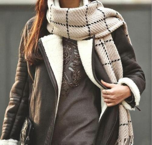 Fashion Warm Women Scarves Winter Cashmere Scarf