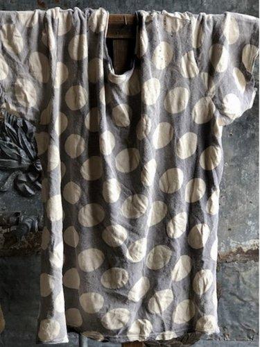 Women Casual Polka Dot Tops Tunic T Shirt Tee