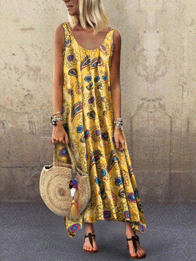 Sleeveless Casual Dresses