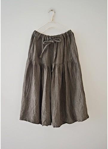 Casual Plain Skirts
