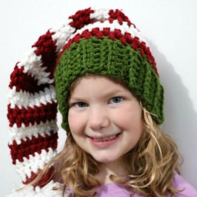 Parent-Offspring Christmas Hat