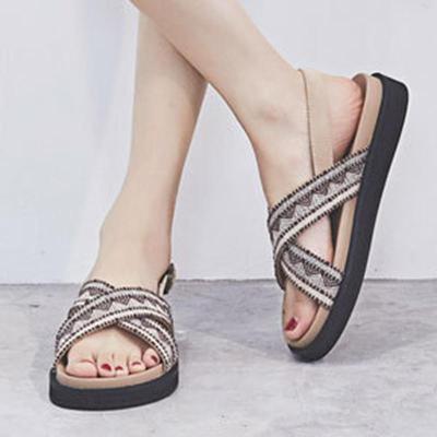Open Toe Roman Summer Beach Sandals