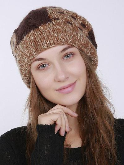 Vintage Casual Knitted Hat