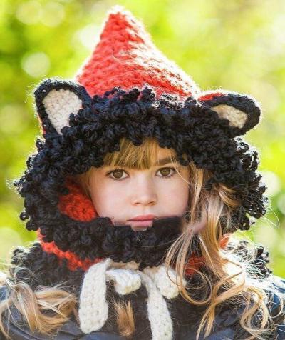 Animals Children Hats