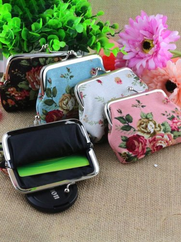 Creative Canvas Coin Purse 12*9cm