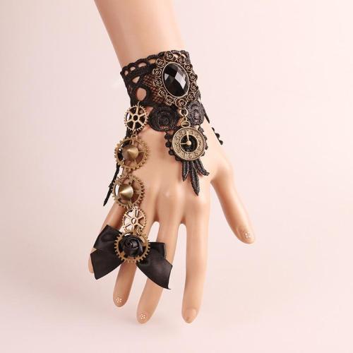 Handwear Halloween Vintage Steampunk Gloves Wrist Cuff