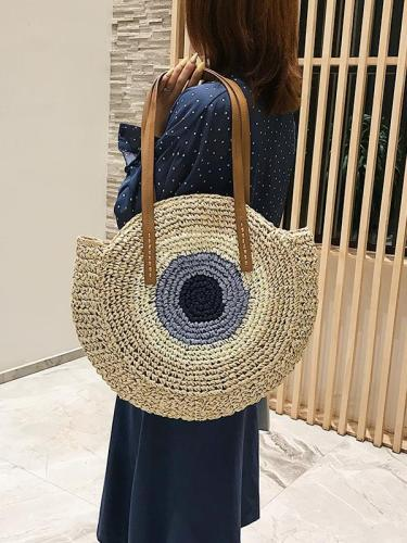 Straw Shoulder Bags