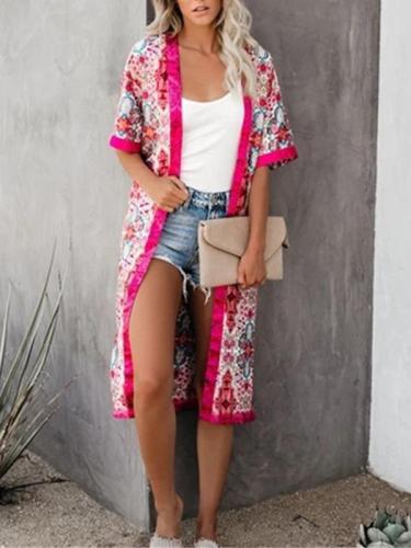 Summer Casual Short-Sleeved Cardigan