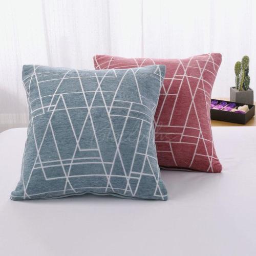 Geometric Line Print Pillowcase