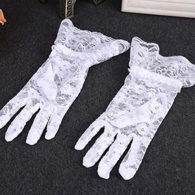 Lace Gloves For Women Lady