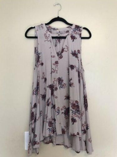 Gray Casual Cotton Dresses