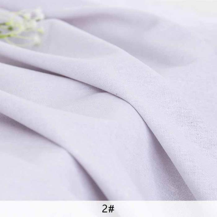 Canvas fabric rough solid linen fabric Polyester for zakka storage bag Home textiles decoration