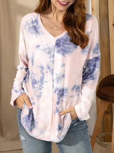 Tie-Dyed Casual Shirts & Tops