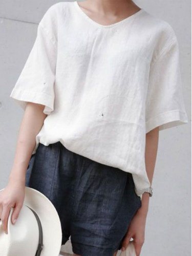 Solid Casual Shirts & Tops