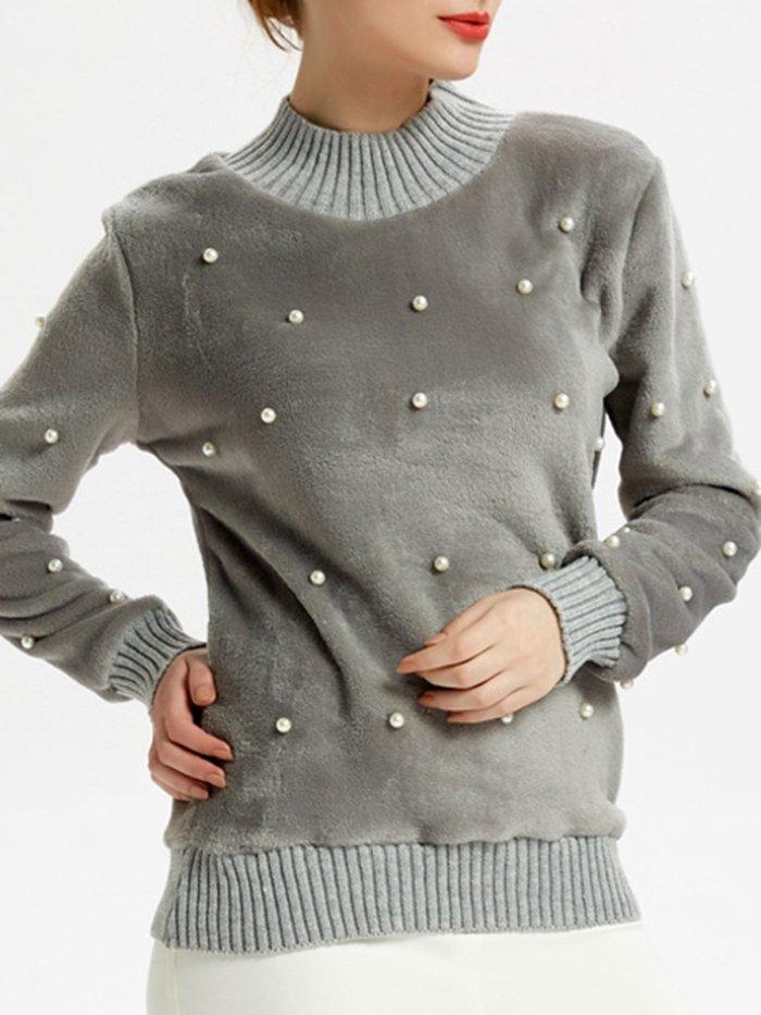 White Polyester Casual Solid Binding Hoodies & Sweatshirt