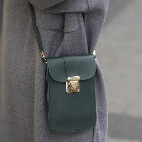 Vintage Pure Color 5.5inch Phone Bag Purse Crossbody Bags