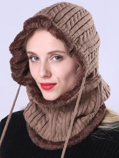 Women Casual Plain KnittedHats