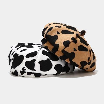 Retro-hair Cow Beret Day Is The Original Painter's Hat