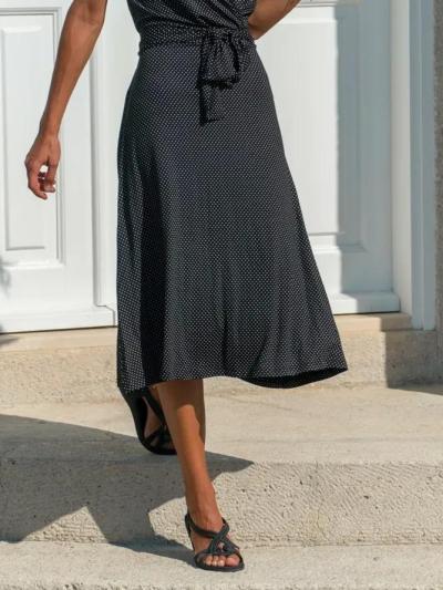 Casual Polka Dots Dresses