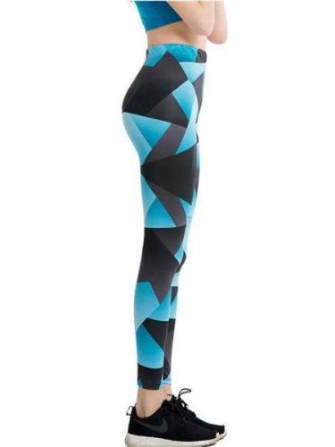 Geometric Casual Printed Leggings
