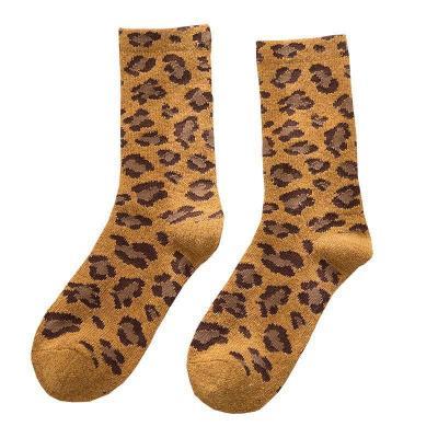 Women Casual Leopard Underwear & Socks