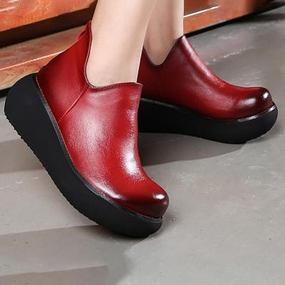 Women Platform Loafers Casual Slip On High Quality Shoes