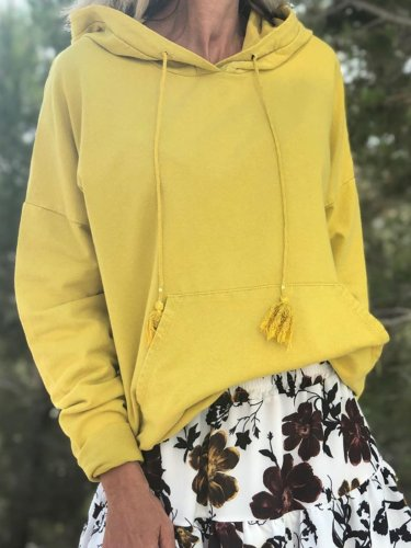Women Casual Tops Tunic Hoodie Sweater