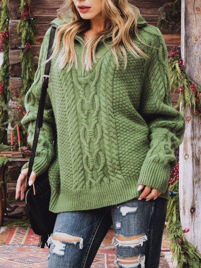 Women Long Sleeve Turtleneck Sweater