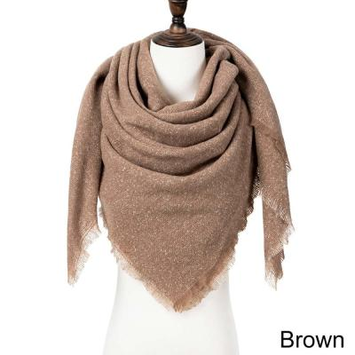 New Autumn Winter Scarf For Women Bohimian Style Scarves Tassel Printed Shawls