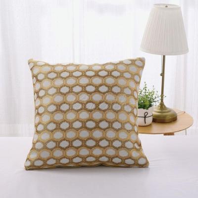 Polygonal Geometric Print Pillowcase
